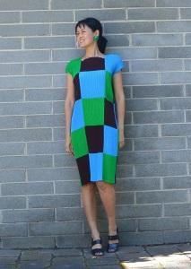 Issey Miyake pleats dress