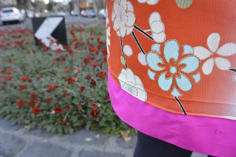 patch kimono detail