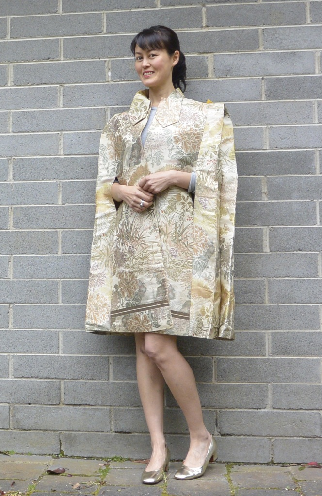 Japanese kimono cape