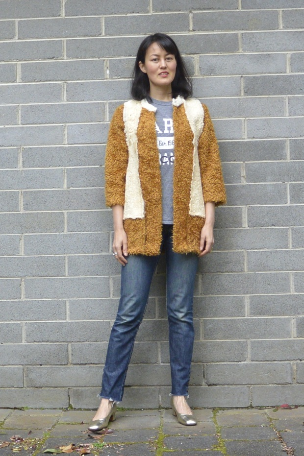 DIY shearling jacket
