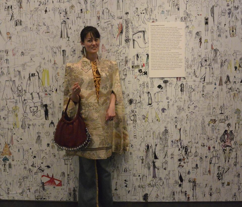 Viktor & Rolf wallpaper cape