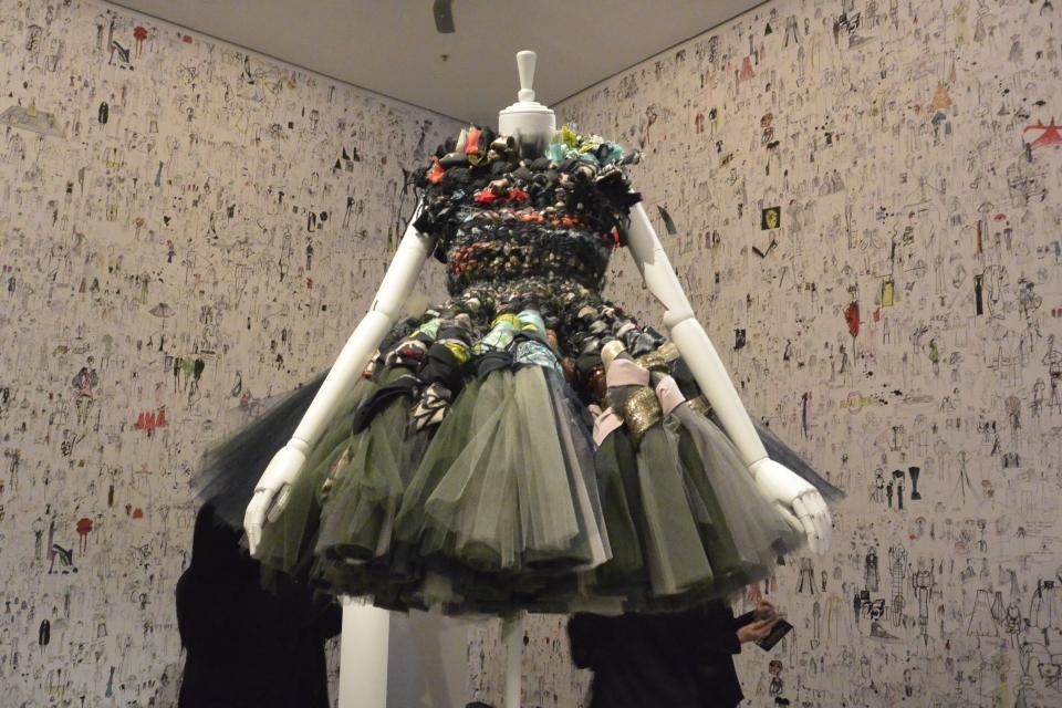 Viktor & Rolf recycled dress