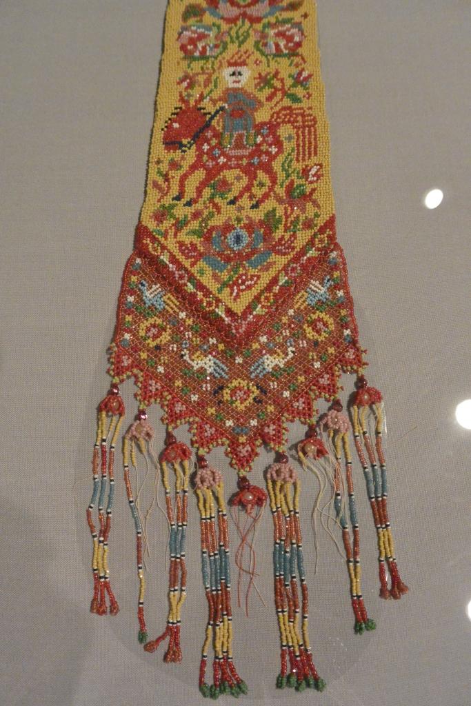 Peranakan beads embroidery