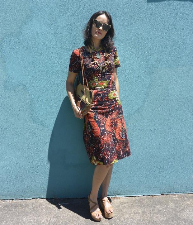 summer batik suit DIY