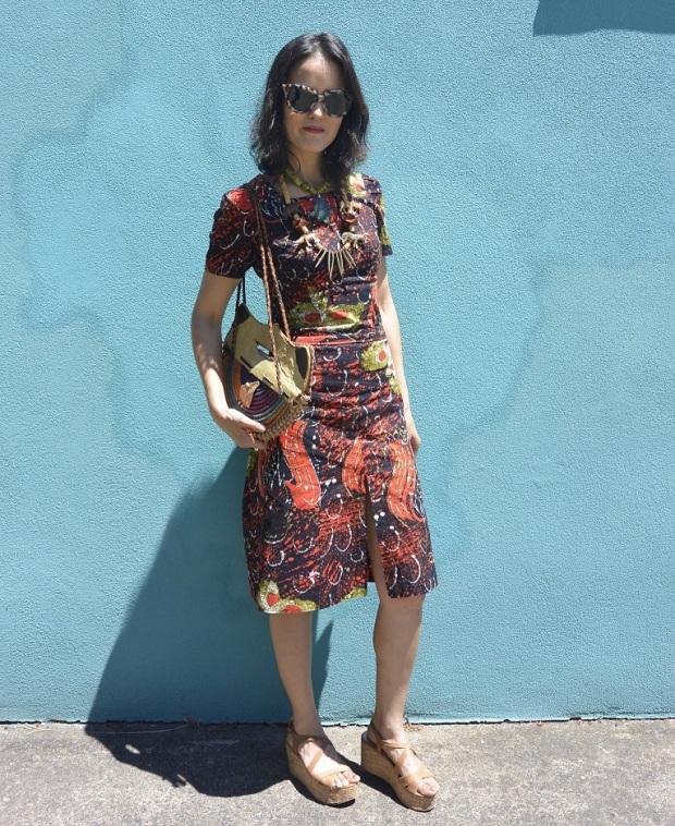 batik outfit DIY sewing