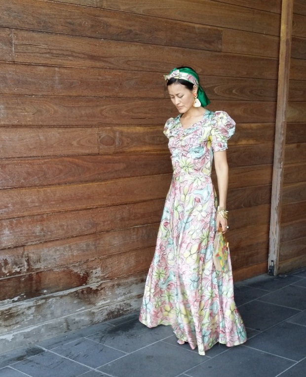 Vinnies opshop floral dress