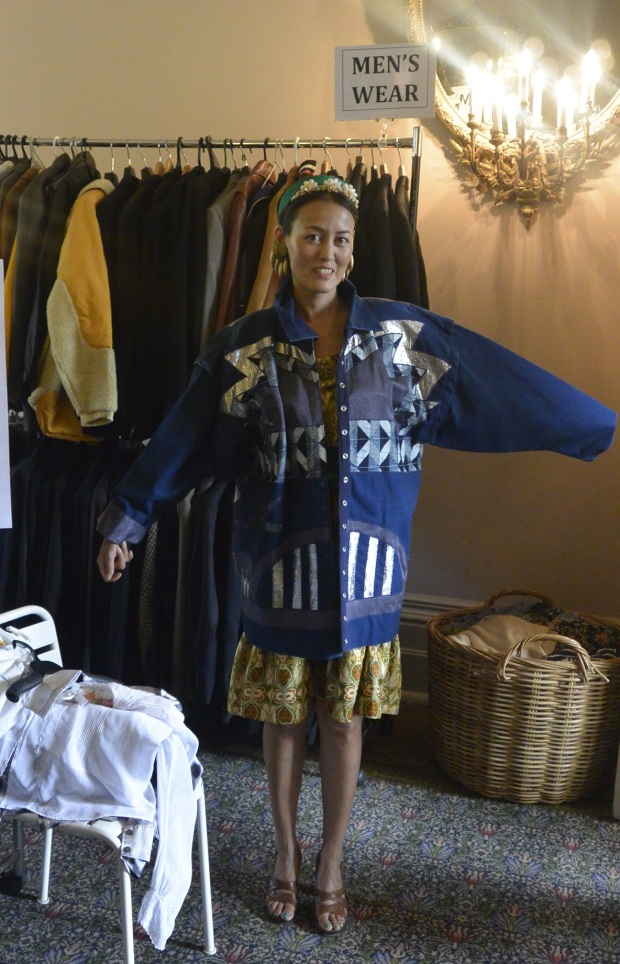 Prue Acton indigo jacket