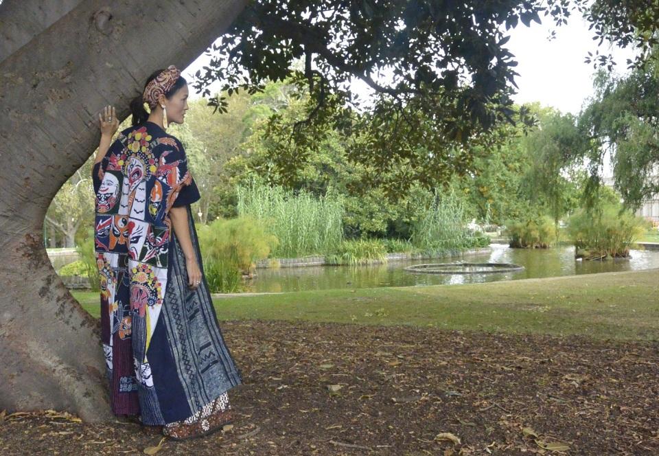 Carlton gardens batik sewing DIY