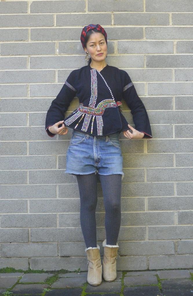 Lao Lu hill tribe jacket DIY