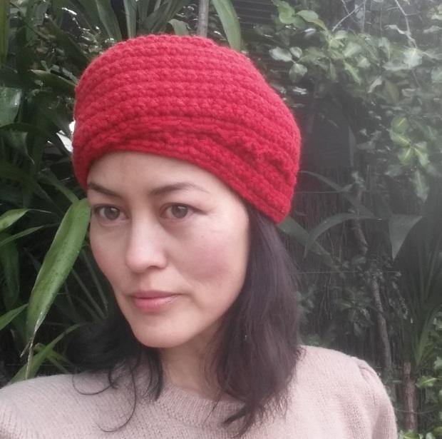 DIY crochet turban