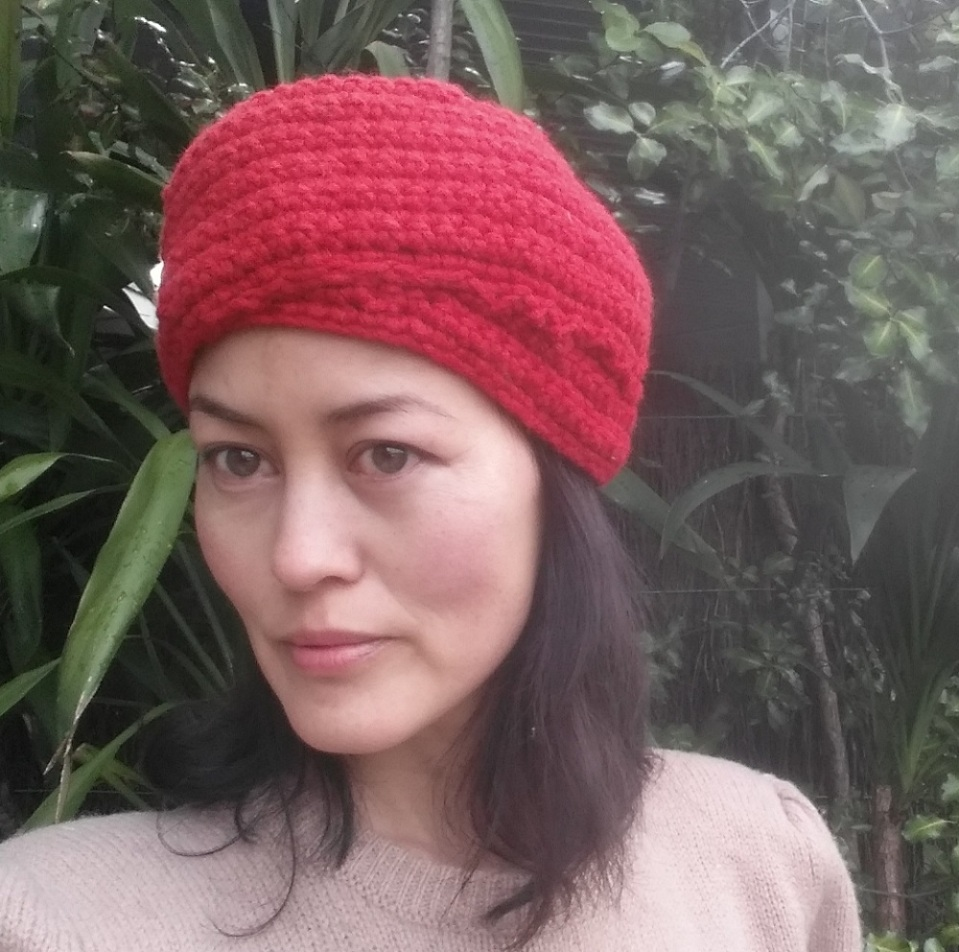 DIY crochet turban
