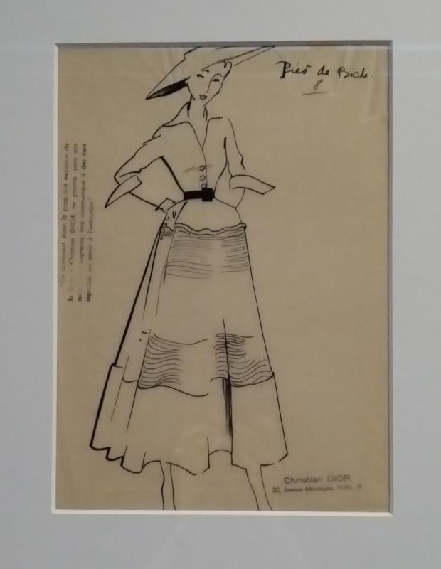 Dior sketch