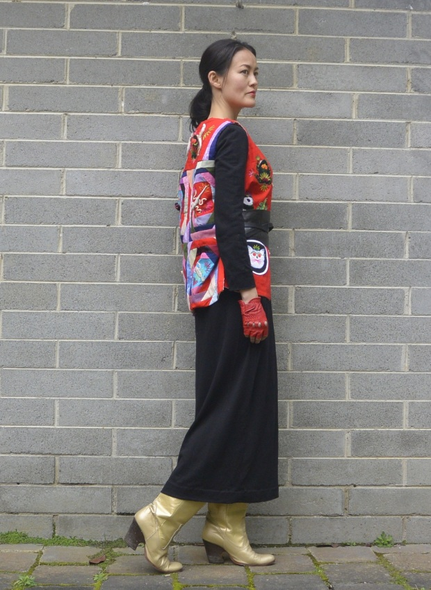 Chinese embroidered vest