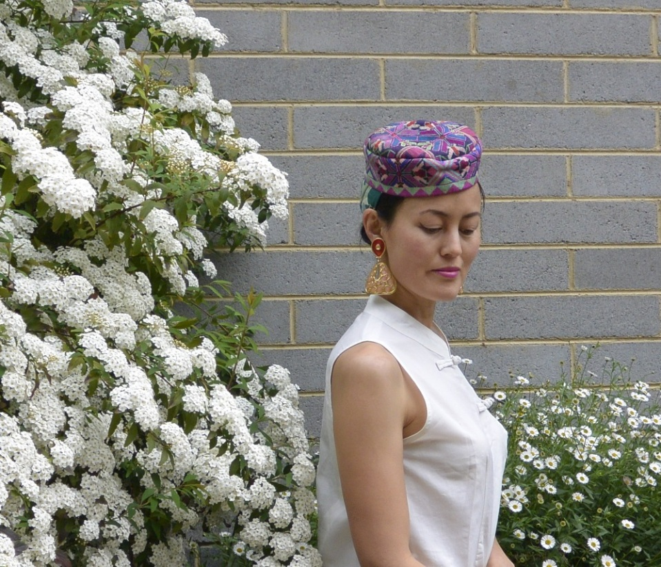 embroidered hat Spring Racing
