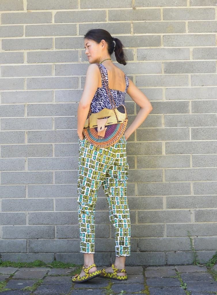 vintage green pants